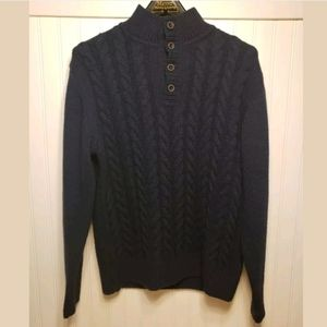 Lorenzo Magni Knit Sweater L Made in Italy